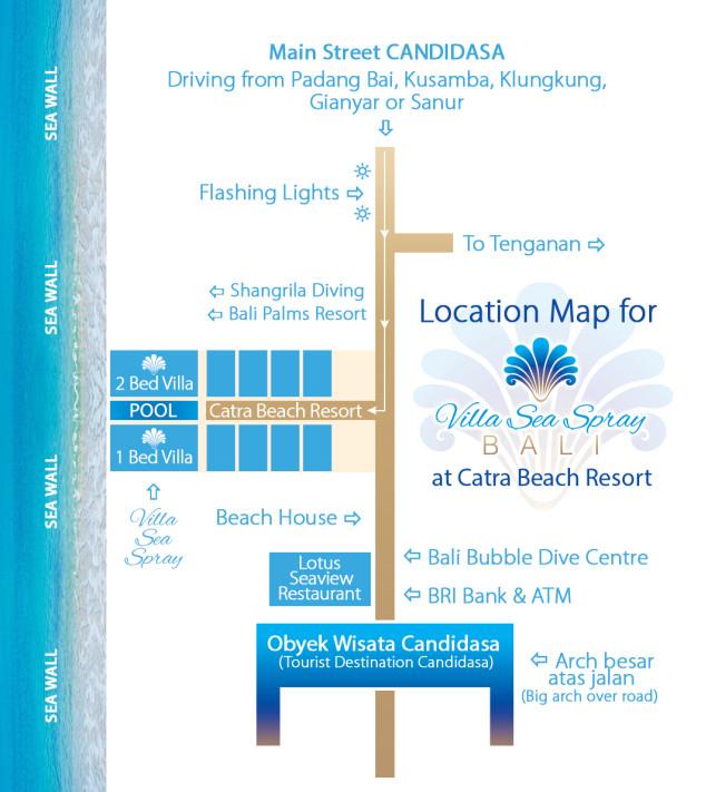 Villa Sea Spray Mud Map